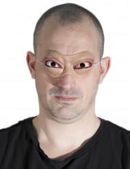 Latex maske med øjne - Halloween