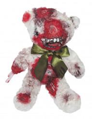 Blodig bamsebjørn 38 cm Halloween