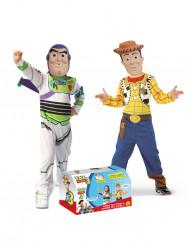 2 i 1 kostume Buzz™ og Woody™ fra Toy Story til børn