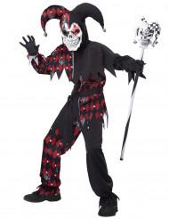 Hofnar Kostume Djævelsk til børn