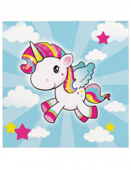 Servietter 20 stk lille unicorn