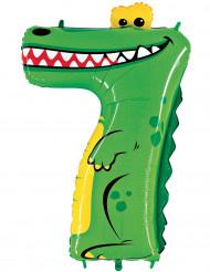 Ballon aluminium gigant tal 7 krokodille