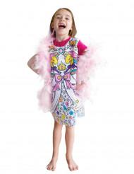 Vaskbar prinsesse kjole til at farve på