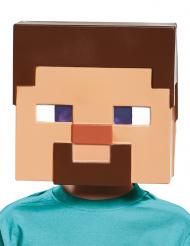 Maske Steve Minecraft™ til børn