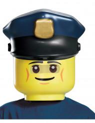 Maske politimand LEGO® til børn