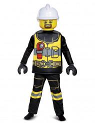 Kostume lukses brandmand LEGO® til børn
