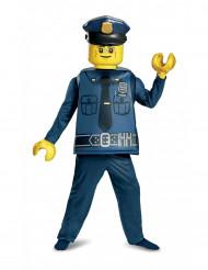Kostume luksus politi LEGO® til børn