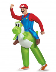 Kostume oppusteligt Mario på Yoshi Nintendo® til voksne