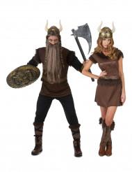 Parkostume vikinger til voksne