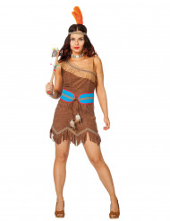 Indianer prinsessen - Indianerkostume til kvinder