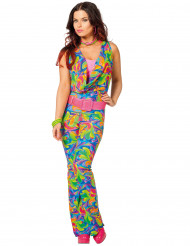 Kostume disco multifarvet