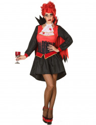 Kostume blodig vampyr til kvinder Halloween