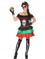 Kostume mexicaner Dia de los muertos