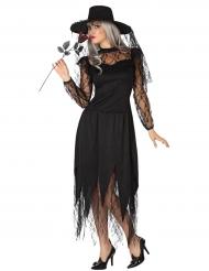 Kostume Halloween blonde heks