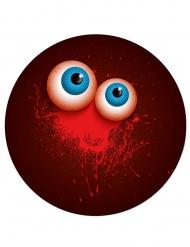 Halloween tallerkener med blodige øjne