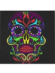 Servietter 20 stk. farvet skelet Dia de los Muertos 33x33cm