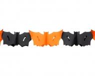 Guirlande flagermus Halloween 3 meter