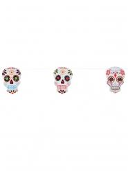 Guirlande skelet Dia de los Muertos 3 meter