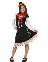 Kostume kjole mexikansk til piger