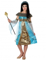 Kostume egypter i blå til piger