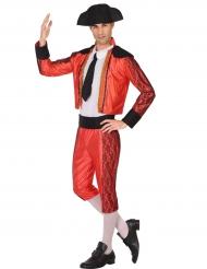 Elegant rødt tyrefægterkostume til mænd