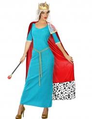 Kostume middelalder dronning til kvinder