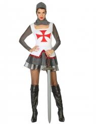 Middelalderrustning kostume til kvinder