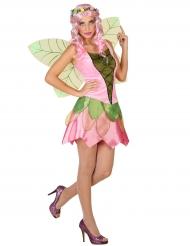 Kostume rosa forårs fe