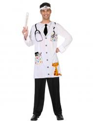 Kostume dyrlæge til voksne