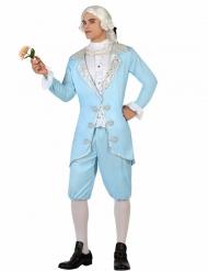 Kostume barok prins blå til mænd