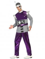 Kostume robot lilla til mænd