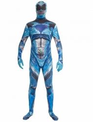 Kostume heldragt blå Power Rangers deluxe til voksne Morphsuits™