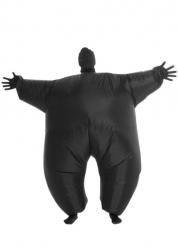 Kostume oppustelig lysende sort Morphsuits™ til voksne