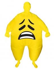 Kostume oppusteligt trist ansigt Morphsuits™ til voksne