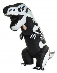 Kostume oppustelig skelet T-rex til børn Morphsuits™