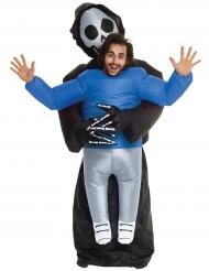 Oppusteligt døden kostume til voksne - Morphsuits™ Halloween