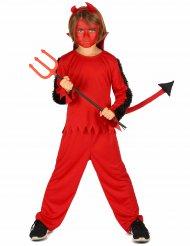 Kostume djævel til dreng Halloween