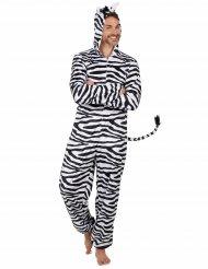 Sort og hvid zebradragt til mænd