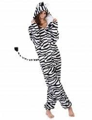 Sort og hvid zebradragt til kvinder