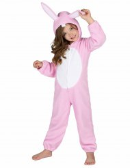 Kostume Kanin lyserød til børn