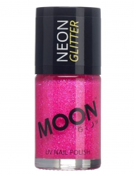 Neglelak fichsia med glimmer Moonglow©