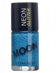 Neglelak blå med glimmer Moonglow©