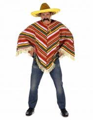 Poncho mexicansk til voksne