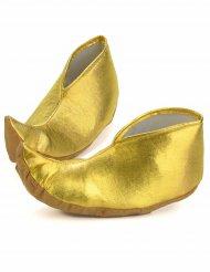 Overtrækssko gyldne sultan til voksne