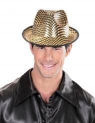 Hat borsalino med gyldne felter