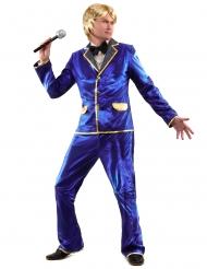 Kostume disco i blå til mænd