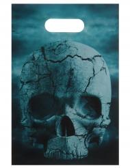 10 plastikposer til fest Night of horror 16 x 23 cm