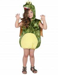 Kostume grøn drage til børn