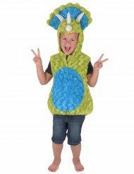 Kostume dinosaur blå og grøn