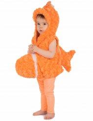 Kostume orange fisk til børn